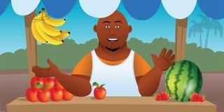 Fruit vendor Stock Photos