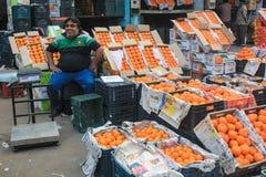 Fruit vendor Stock Images