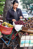 Fruit vendor Royalty Free Stock Photos