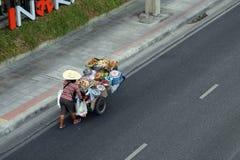 Fruit vendor Royalty Free Stock Photo