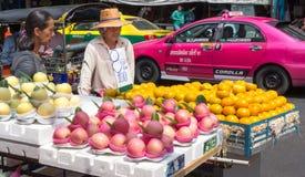 Fruit vendors Royalty Free Stock Image