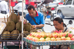 Fruit vendors Royalty Free Stock Photos