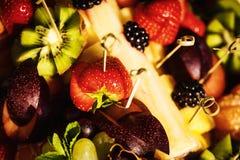 Fruit verse salade stock foto's