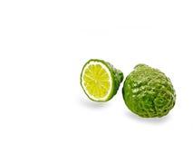 Fruit vert de bergamote photographie stock libre de droits