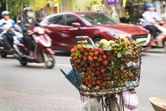 Fruit in Vietnamese street in Ho Chi Minh city, Vietnam.  Stock Photography