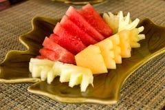Fruit voor maaltijd royalty-vrije stock foto's
