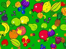 Fruit wallpaper Stock Photo