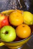 Fruit washing Stock Image