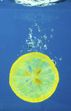 Fruit in water Royalty Free Stock Images