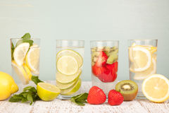 Fruit water Stock Photos