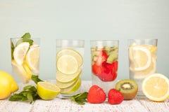 Fruit water stock photos