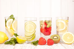 Fruit water Stock Photo