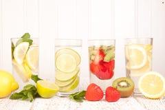 Fruit water stock photo