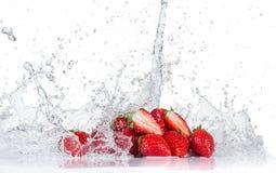Fruit with water splash Royalty Free Stock Photo