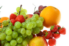 Fruit on white. Stock Photos