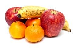 Fruit on white background Stock Images