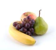 Fruit on a white background. Royalty Free Stock Photos