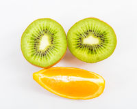 Fruit on a white background Royalty Free Stock Photos
