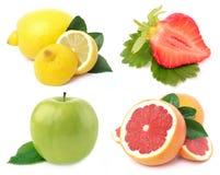 Fruit. On a white background Stock Image