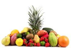 Fruit on white background Stock Photography