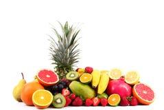 Fruit on white background Stock Photo