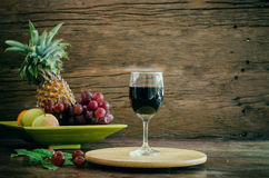 Fruit wine Royalty Free Stock Photo