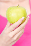 Fruit in woman's hand Stock Image