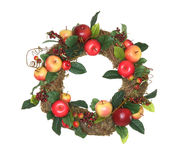 Fruit Wreath Royalty Free Stock Image