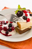 Fruit and Yoghurt Cake Stock Image