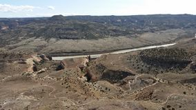 Fruita Colorado trail system Royalty Free Stock Photo