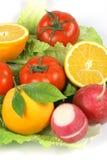 fruitand蔬菜 免版税库存图片