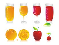 FruitBeverage Royalty Free Stock Photo
