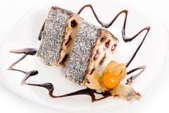 Fruitcake Royalty Free Stock Photography