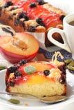 Fruitcake. Royalty Free Stock Images