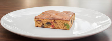 Fruitcake Royalty-vrije Stock Foto's