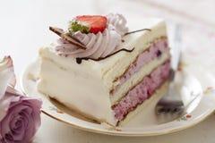 Fruitcake royalty-vrije stock afbeeldingen