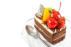 Fruitcake Stock Images