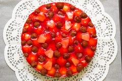 Fruitcake stock foto