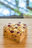 Fruitcake Royalty Free Stock Photo