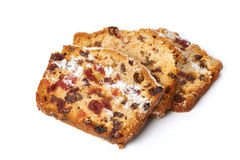 Fruitcake Isolated Royalty Free Stock Image
