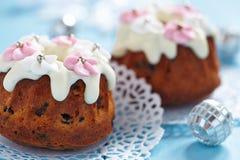 Fruitcake muffins Royalty Free Stock Photography