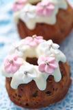 Fruitcake muffins Royalty Free Stock Image