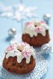 Fruitcake muffins Royalty Free Stock Photo