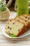 Fruitcake with raisin Royalty Free Stock Image