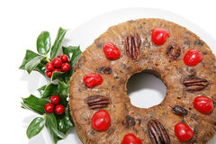 Fruitcake Ring Royalty Free Stock Photo