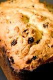 Fruitcake saporito Fotografia Stock