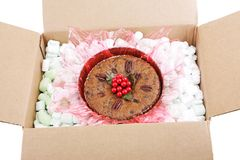 Fruitcake For Shipping Stock Photography