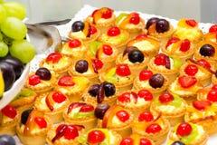 Fruitcakes stock afbeelding