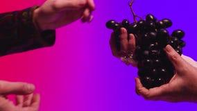 Fruite è passato da corpo a corpo azione Il concetto di amicizia e di pietà archivi video