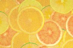 Fruite astratto dell'oro Fotografia Stock